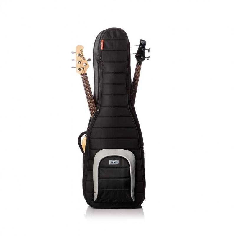 MONO Dual Bass Guitar Case - Black (M80-2B-BLK)