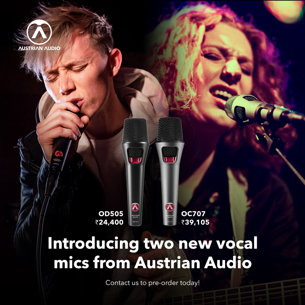Austrian Audio launches two vocal mics