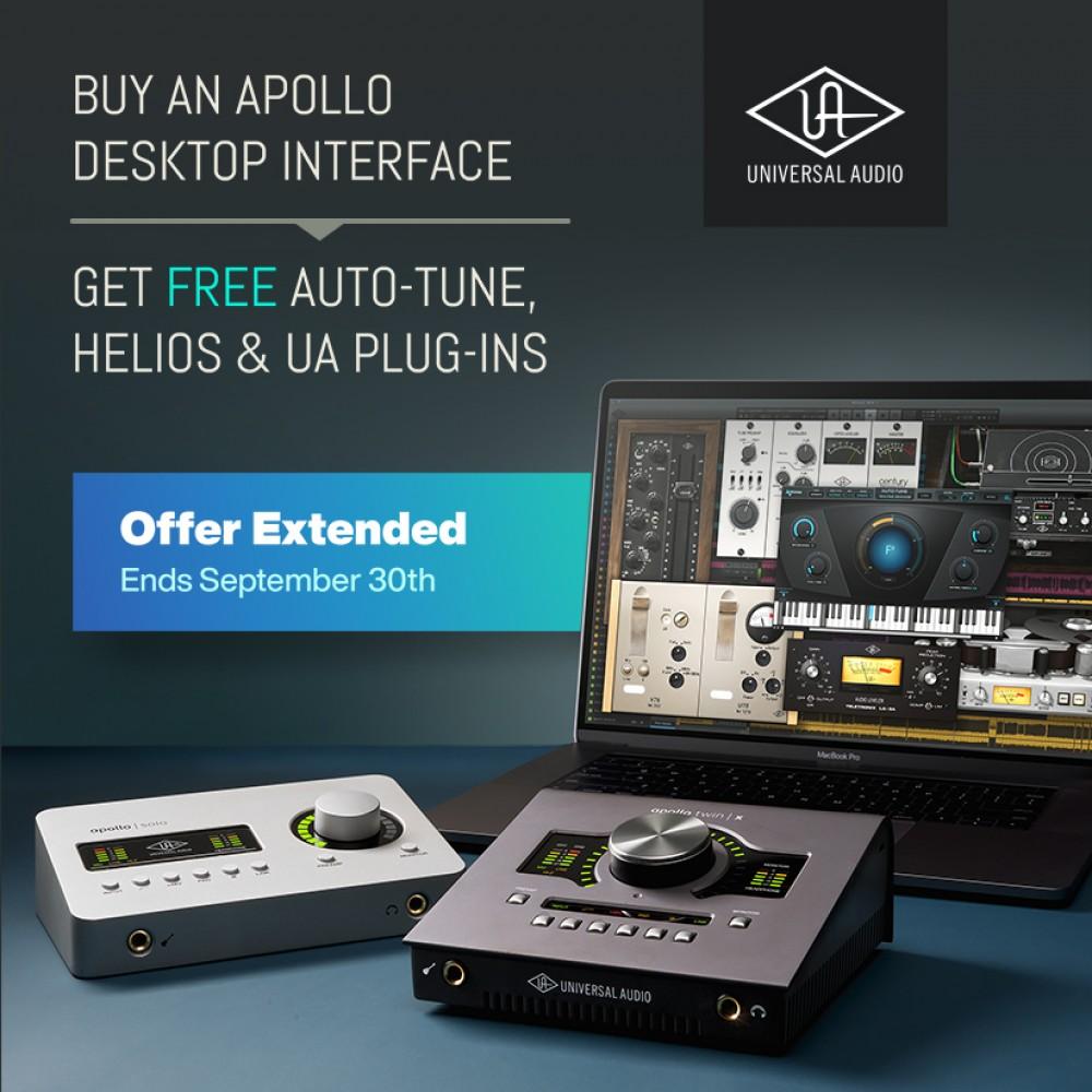 Universal Audio: Desktop Platinum Vocal Promo