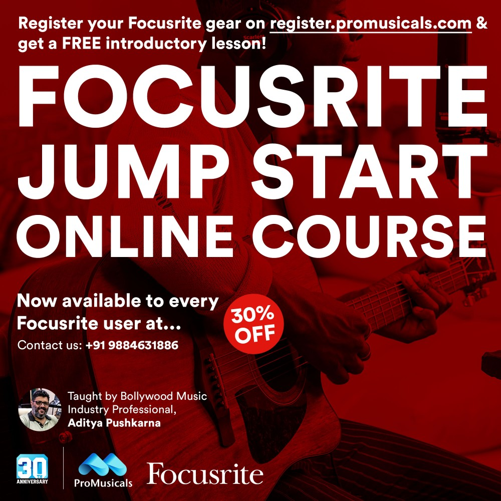 Focusrite Jump Start Online Course