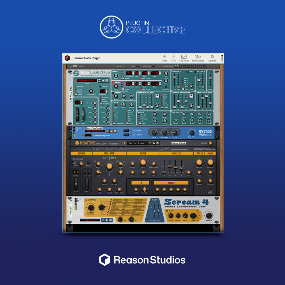 Focusrite Plug-in Collective: Reason Lite