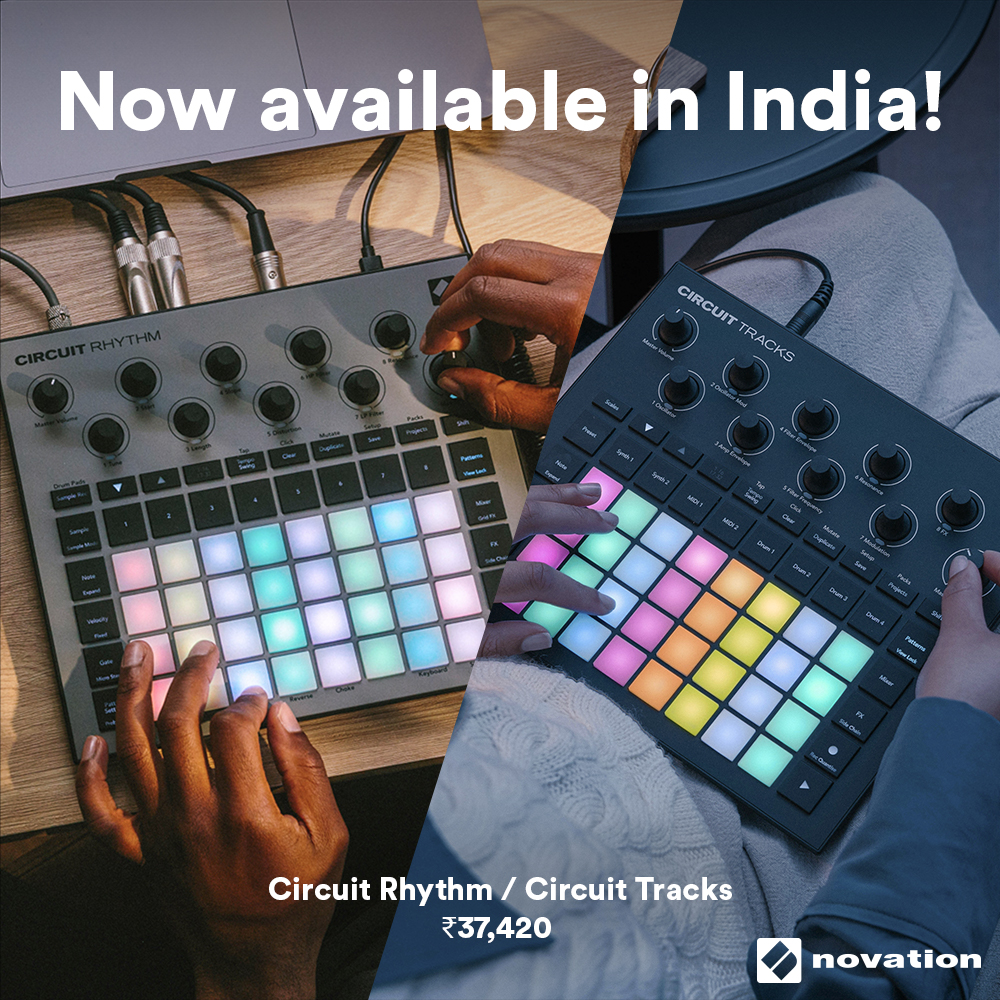 Novation Circuit Rhythm & Circuit Tracks: Now available in India!