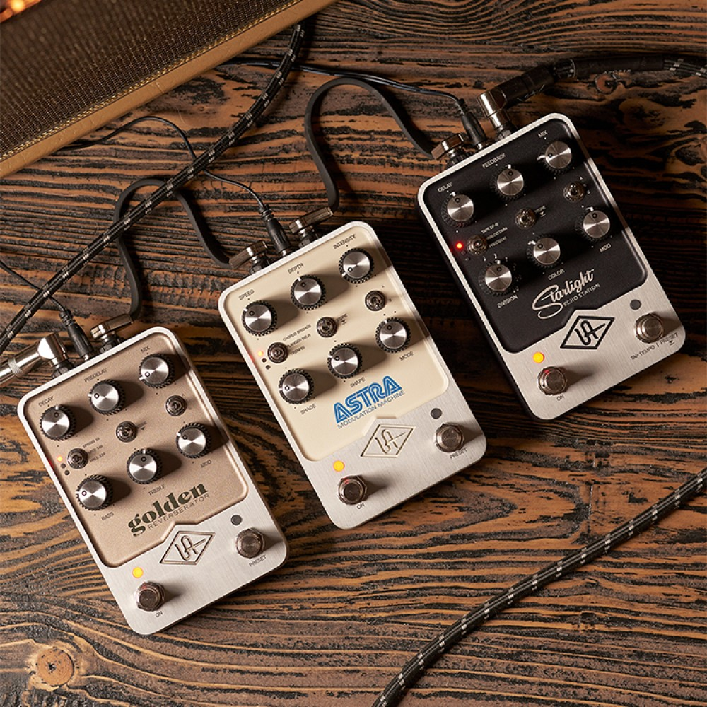 Universal Audio launches UAFX effects pedals