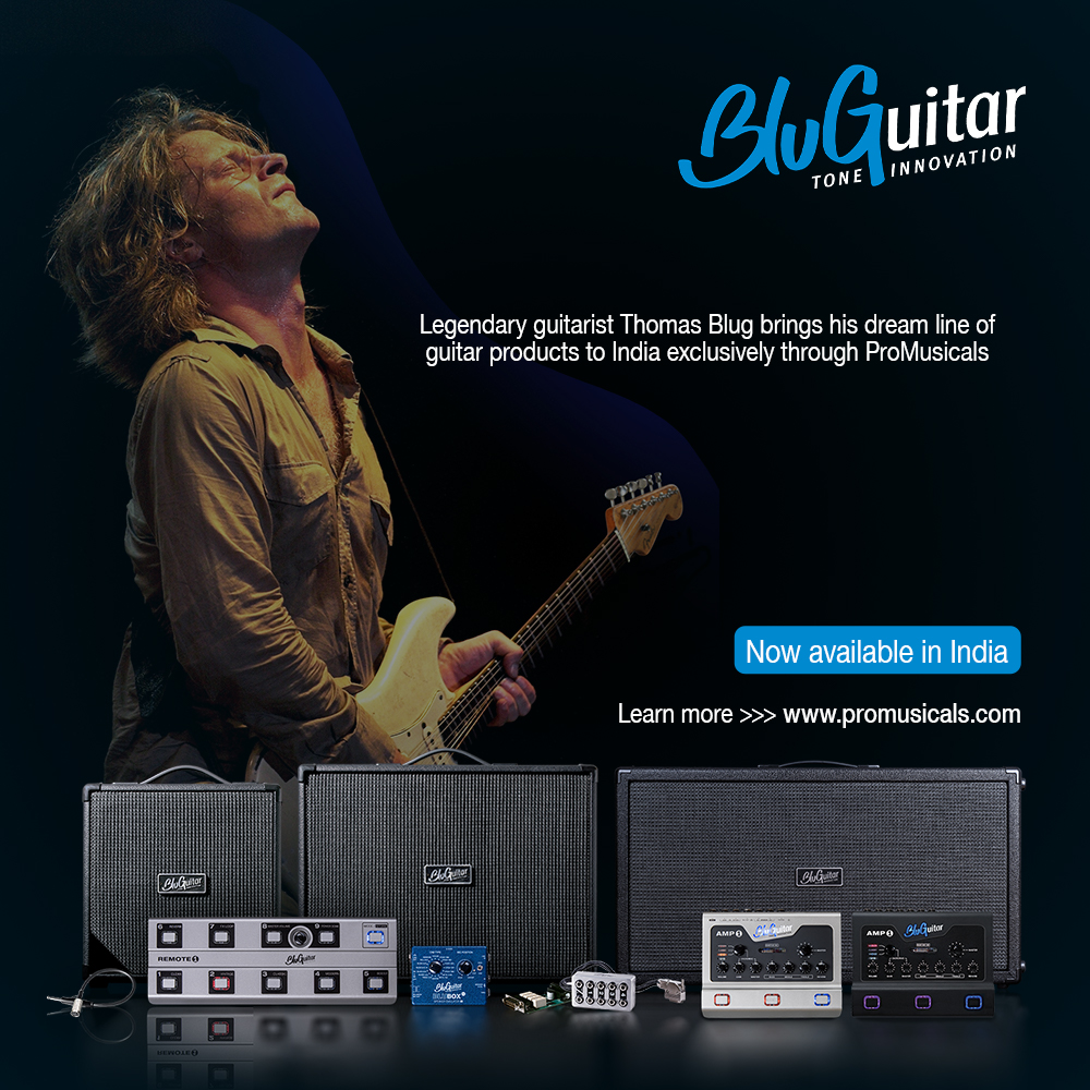 BluGuitar: Now available in India