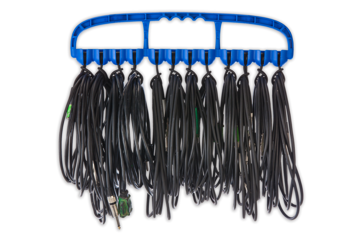 Cable Wrangler – Versatile Cable Management Tool – Blue