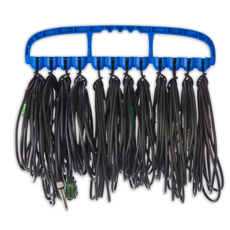 Cable Wrangler – Versatile Cable Management Tool – Blue