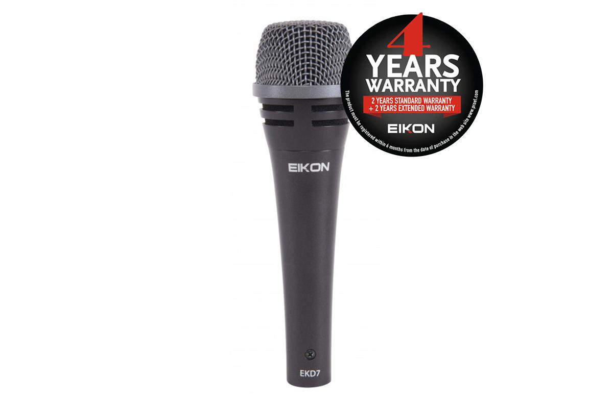Eikon EKD7 - Dynamic Cardioid Professional Microphone