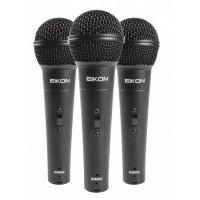 Eikon DM800KIT - Kit made of 3 Vocal Dynamic Microphones
