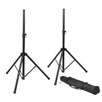 Gator Frameworks RI-SPKRSTDSET Rok-It Speaker Stand Set with Bag