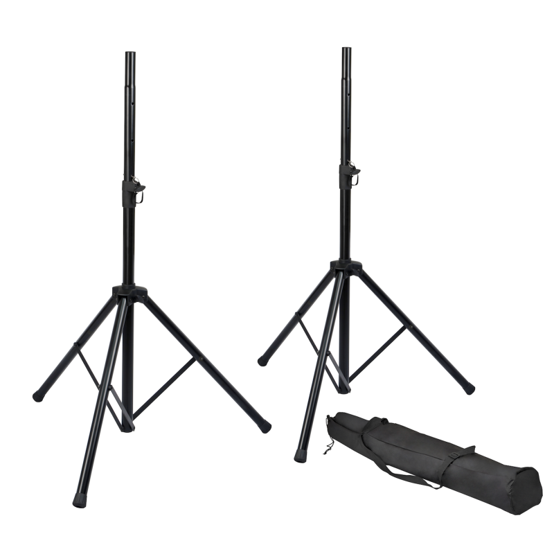 Gator Frameworks RI-SPKRSTDSET Rok-It Speaker Stand Set with Bag