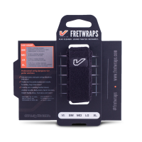 Gruv Gear FretWraps String Muters - Black (Small)