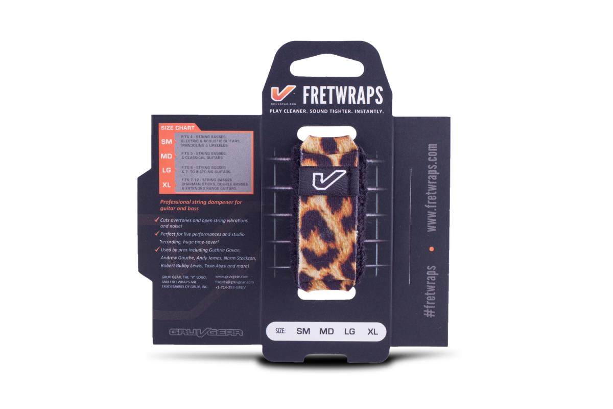 Gruv Gear FretWraps String Muters - Wild Leopard (Medium)