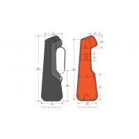 Gruv Gear GigBlade 2 for Electric Bass Guitar (Black)
