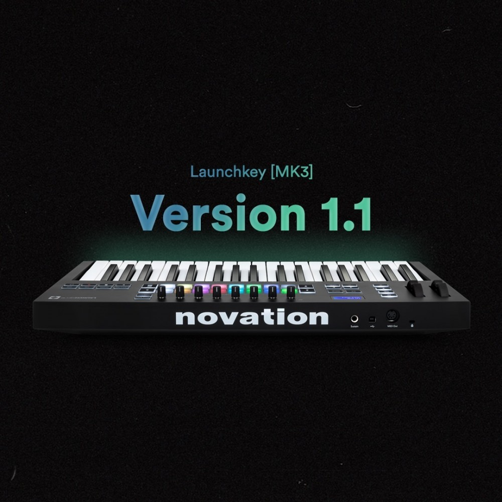 Novation: Firmware Update v1.1 for Launchkey MK3