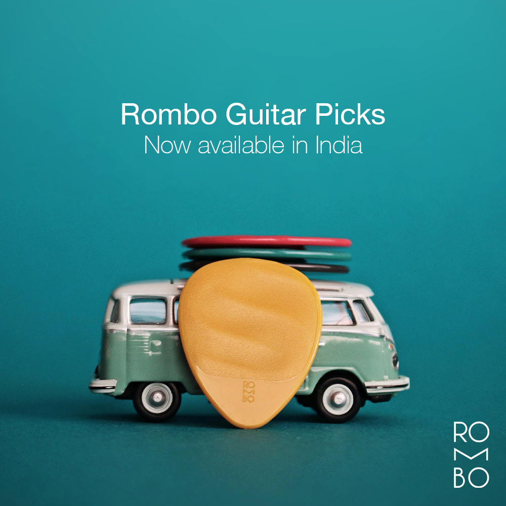 Rombo Guitar Picks: Now available in India
