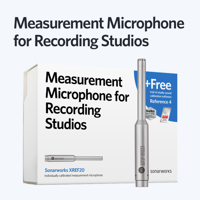 Sonarworks Measurement Microphone for Recording Studios