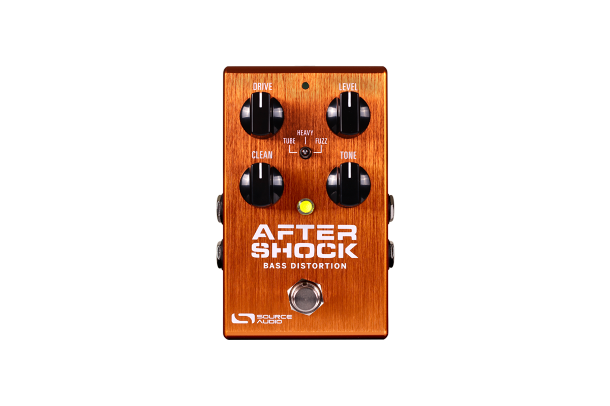 Source Audio One Series AfterShock Bass Distrortion